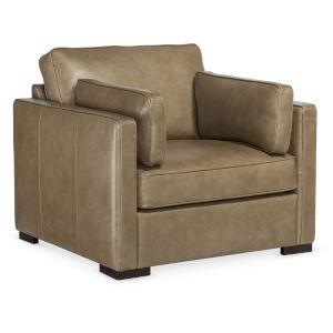 Romiah Dark Wood Stationary Chair