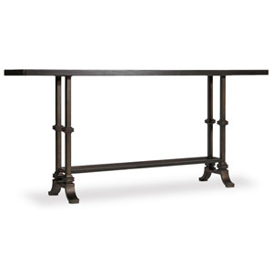 Auberose Black Console Table