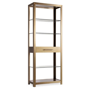 Curata Gold Bunching Bookcase