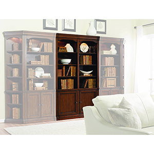 Cherry Creek 52-Inch Wall Bookcase