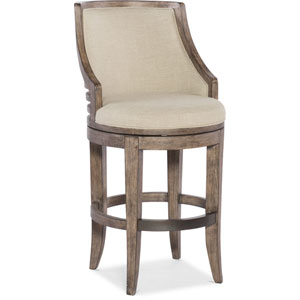 Lainey Gray Transitional Barstool