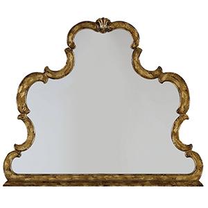 Sanctuary Gold Mirror