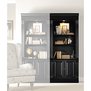 Telluride Bunching Bookcase with Doors