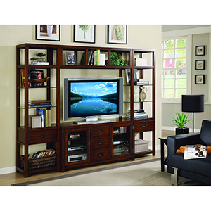 Danforth Wall Group with56-Inch Console