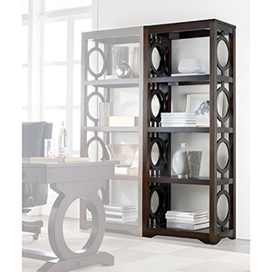 Kinsey Dark Wood Etagere