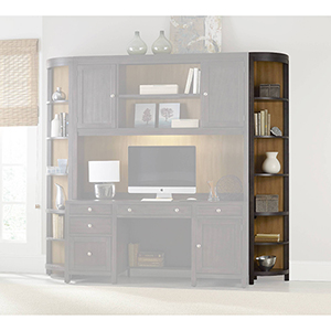 South Park Gray Corner Bookcase