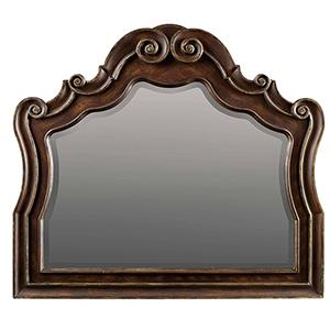 Adagio Dark Wood Mirror