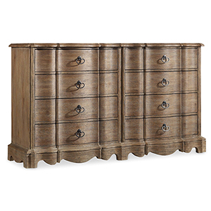 Corsica Eight Drawer Dresser