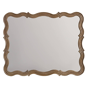 Corsica Light Wood Mirror