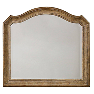 Solana Light Wood Mirror