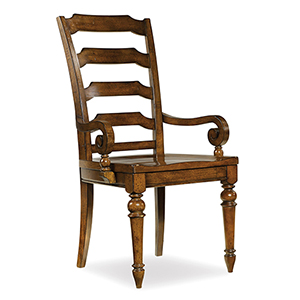 Tynecastle Ladder-back Arm Chair
