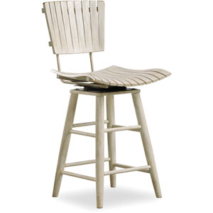 Sunset Point White Counter Chair
