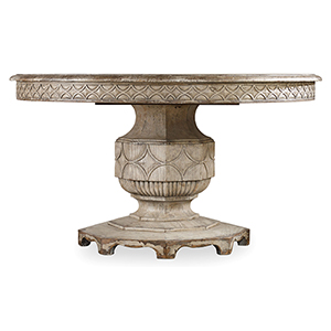 Chatelet Round Dining Table with One 20-Inch Leaf