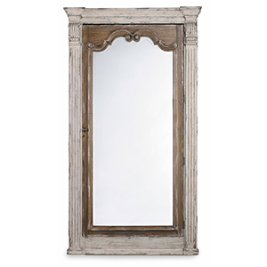 Chatelet Floor Mirror with Jewelry Armoire Storage
