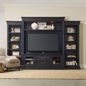 Clermont Four Piece Wall Group - Black Finish