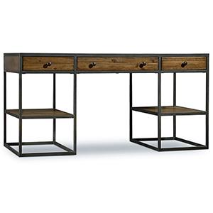 Chadwick Wood and Metal Writing Desk