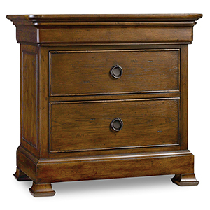 Archivist Three-Drawer Nightstand