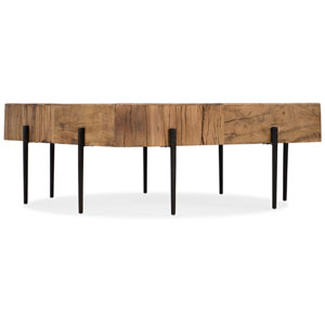 Salvaged Wood Square Cocktail Table