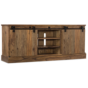 L Usine Sliding Door Entertainment Console