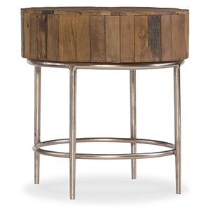 L Usine Reclaimed Wood End Table