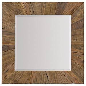 L Usine Reclaimed Wood Mirror