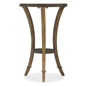 Gold Round Accent Martini Table