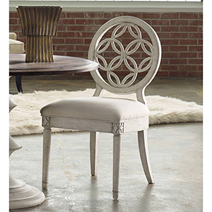 Brynlee White Side Chair