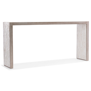 Melange White Emma Console Table