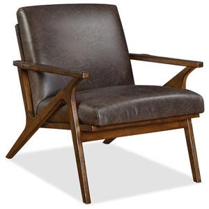 Wylie Exposed Wood Brown Chair