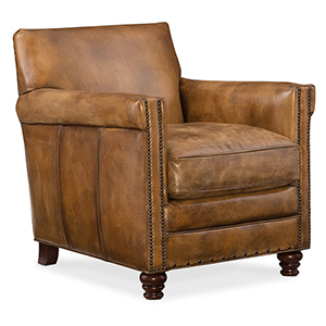 Potter Brown Club Chair