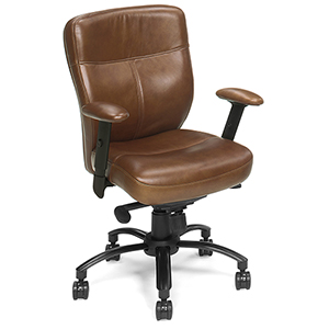 Tandy Executive Swivel Tilt Chair in Brown