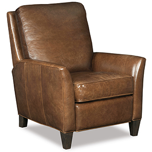 Shasta Brown Leather Recliner
