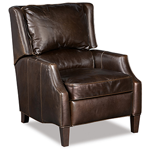 Jake Brown Leather Recliner