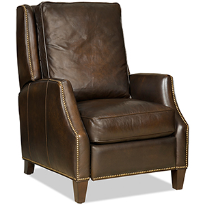Kerley Brown Leather Recliner