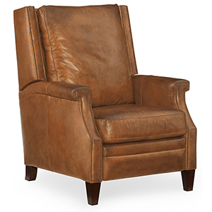 Collin Brown Leather Recliner