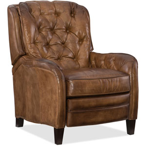 Nolte Brown Leather Recliner