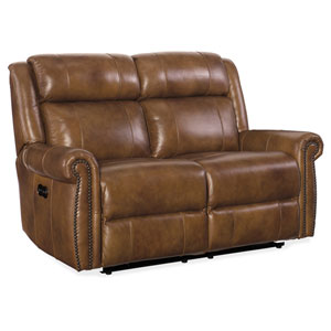 Esme Power Motion Carmel Loveseat with Power Headrest