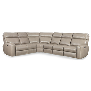 Mowry 4 Piece Power Motion Sectional with Power Headrest