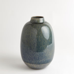 Studio A Home Blue Short Tidal Vase