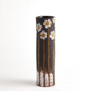 Black 5-Inch Daisy Vase