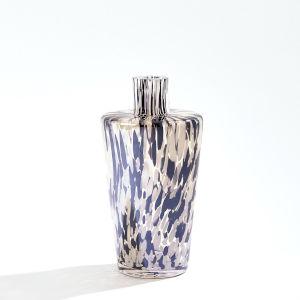 Black and Beige Confetti Shoulder Vase