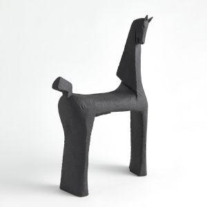 Black 4-Inch Horse Figurine