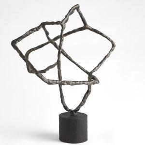 Bronze Tangled Sculpture