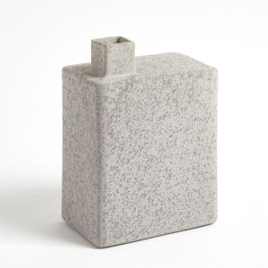 Studio A Home Gray Large Square Chimney Vase