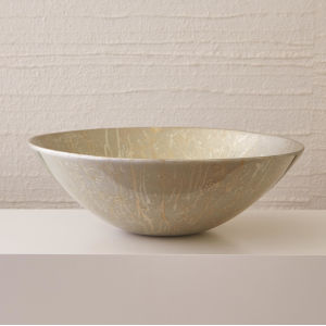 Champagne Silver 23-Inch Bowl