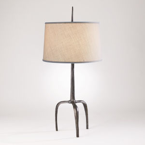 Riley Bronze One-Light Table Lamp
