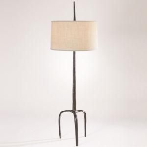 Riley Bronze One-Light Floor Lamp