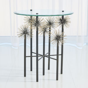 Boom Brass 22-Inch End Table