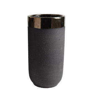 Studio A Home Bronze Small Banded Container