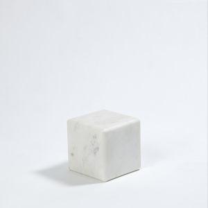 Studio A Home White Small Marble Riser